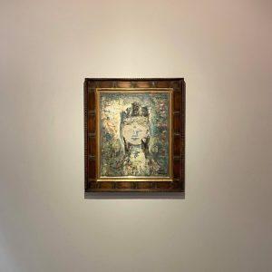 山口薫の絵画作品を買取りました。