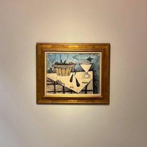 ベルナールビュッフェの絵画を買取ました。